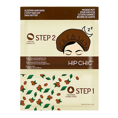 SLEEPING HAIR MASK 2 STEP HAIR CAP - SHEA BUTTER - Soo'Ae Canada