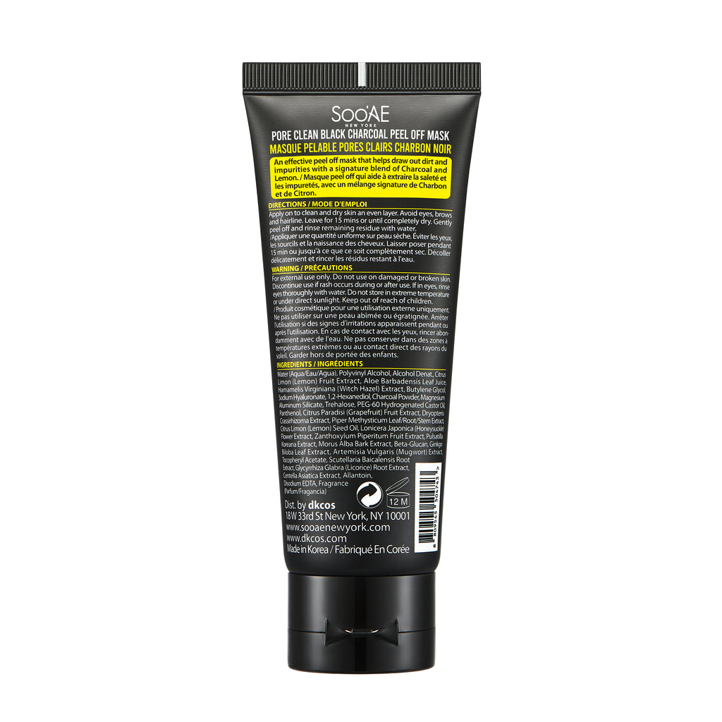 PORE CLEAN BLACK CHARCOAL PEEL OFF MASK