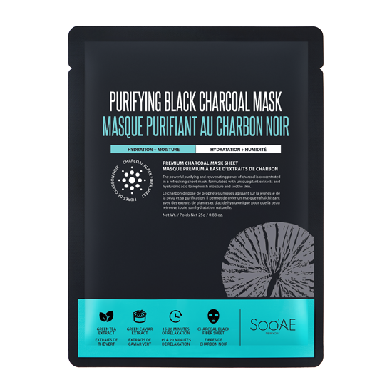 PURIFYING BLACK CHARCOAL MASK - Soo'Ae Canada