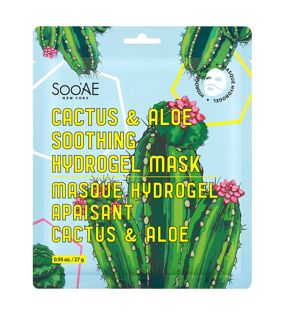 CACTUS & ALOE SOOTHING HYDROGEL MASK