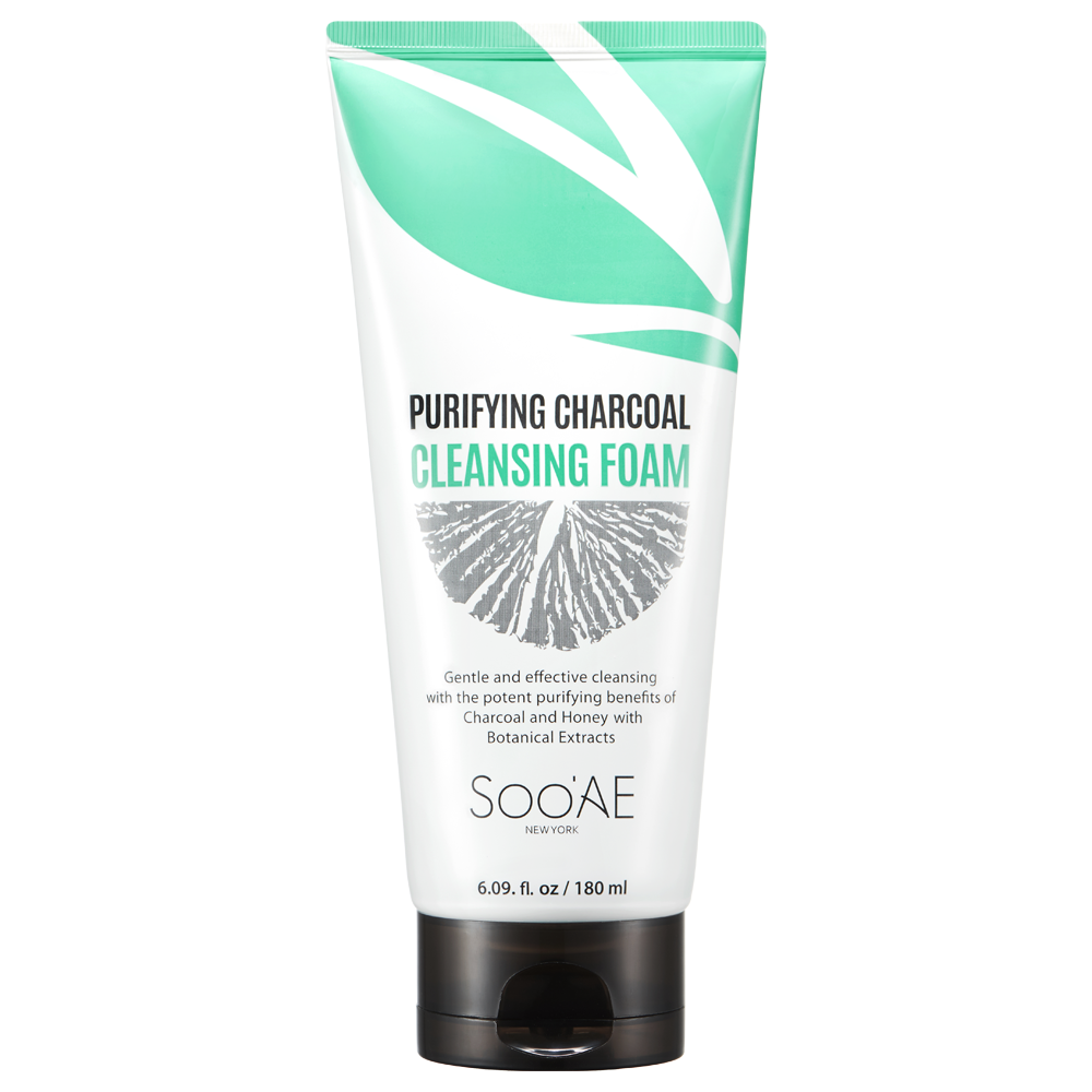 Purifying Charcoal Cleansing Foam - Soo'Ae Canada