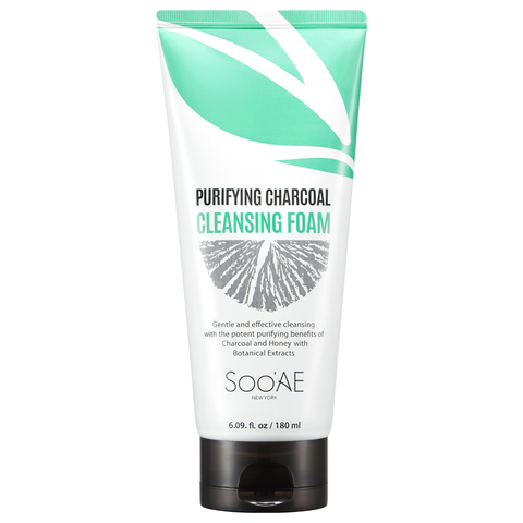 Soo Ae Purifying Charcoal Cleansing Foam