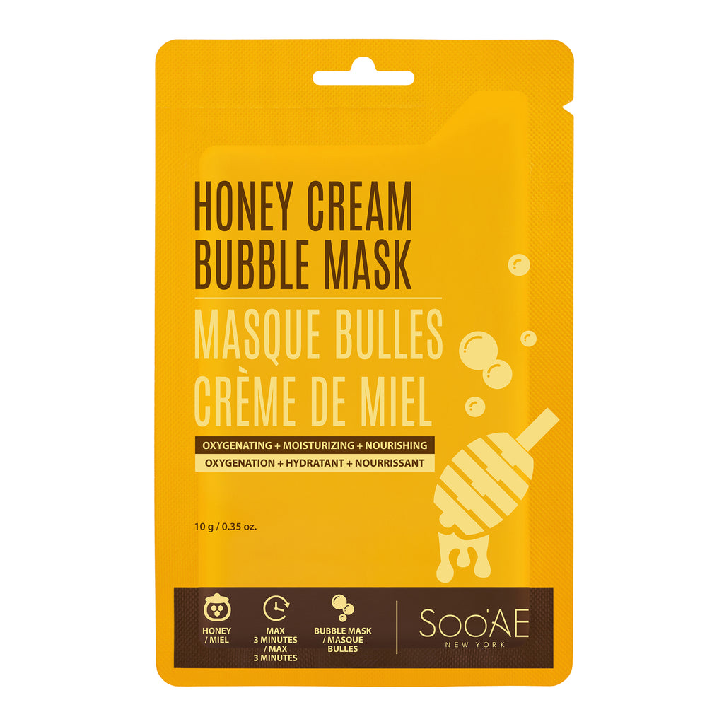 Honey Cream Bubble Mask