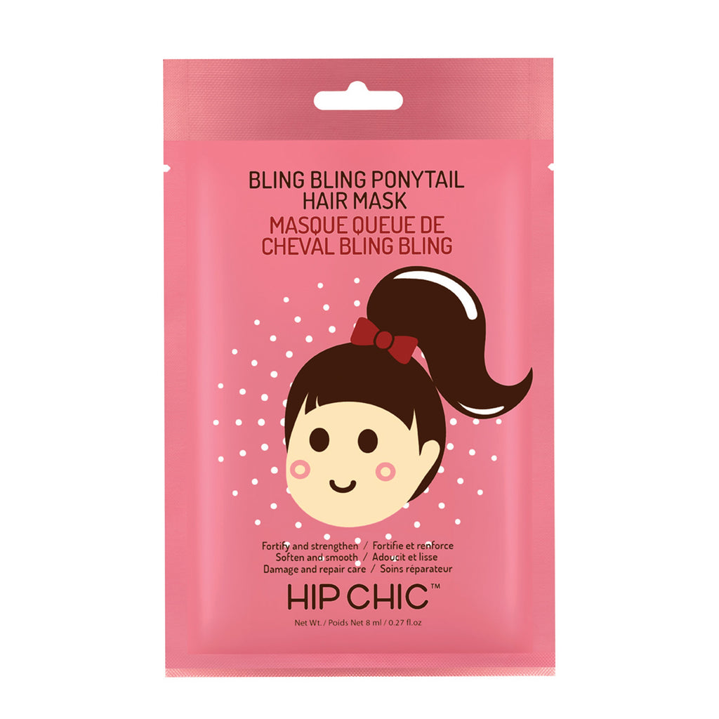 BLING BLING PONYTAIL HAIR MASK