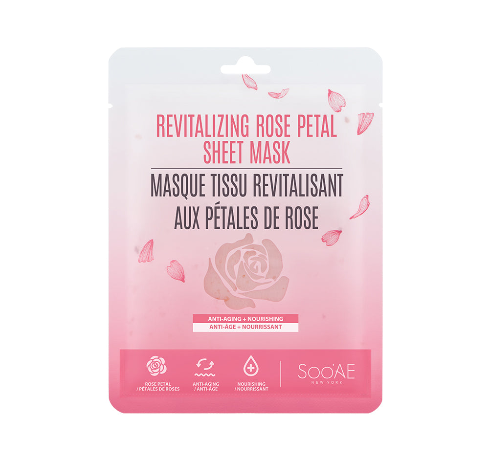 Revitalizing Rose Petal Sheet Mask