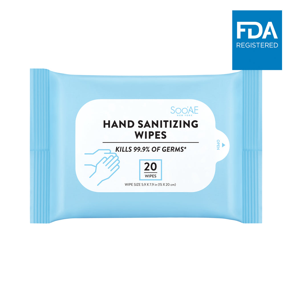 Hand Sanitizing Wipes (20 ea)