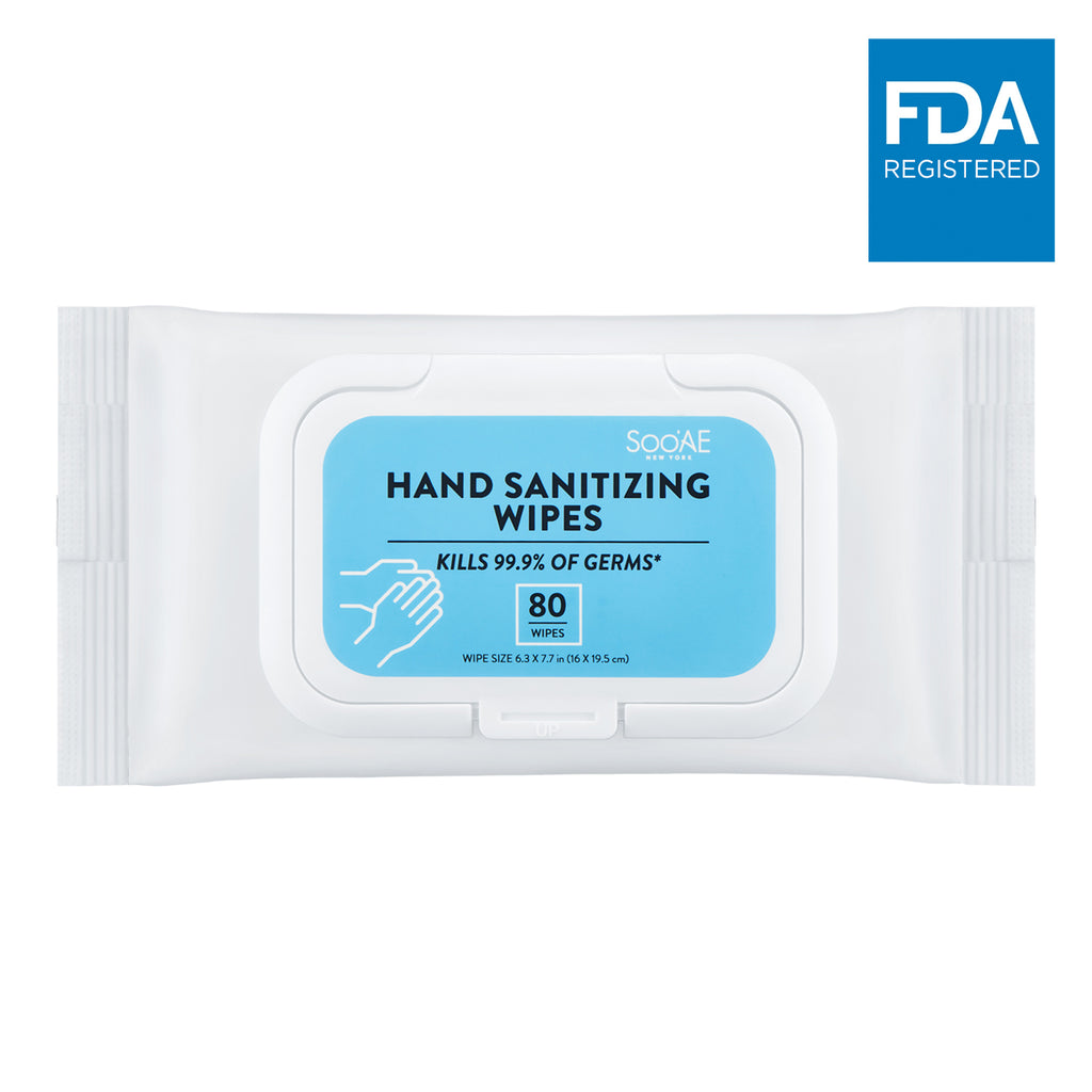 Hand Sanitizing Wipes (80 ea)