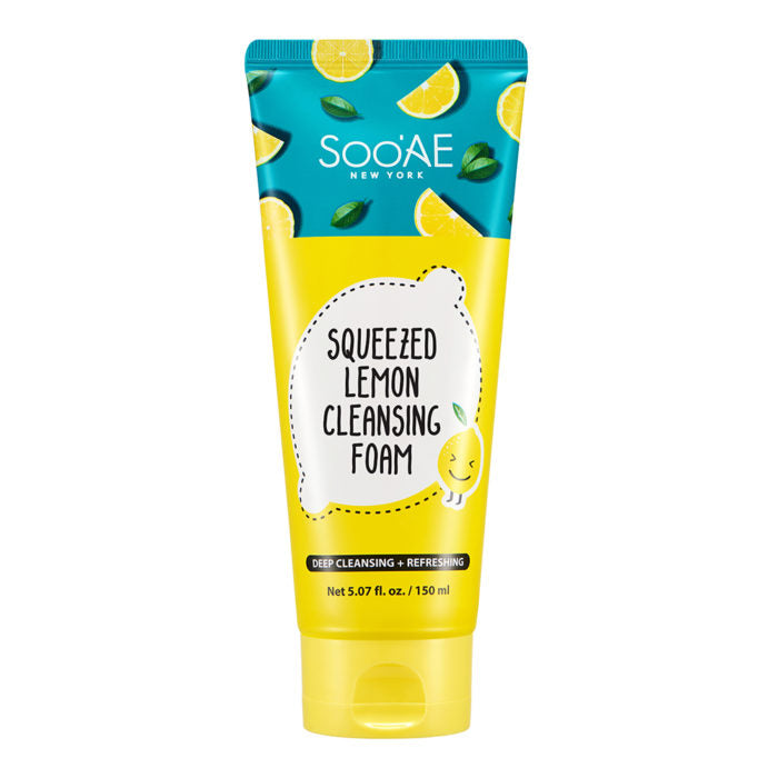 SQUEEZED LEMON CLEANSING FOAM