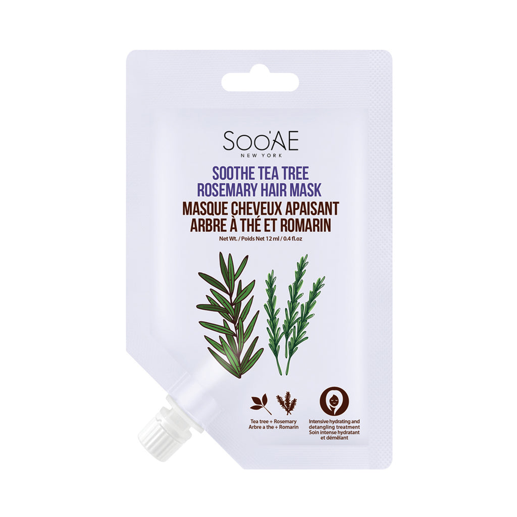[12PCS BUNDLE] SOOTHE TEA TREE ROSEMARY HAIR MASK
