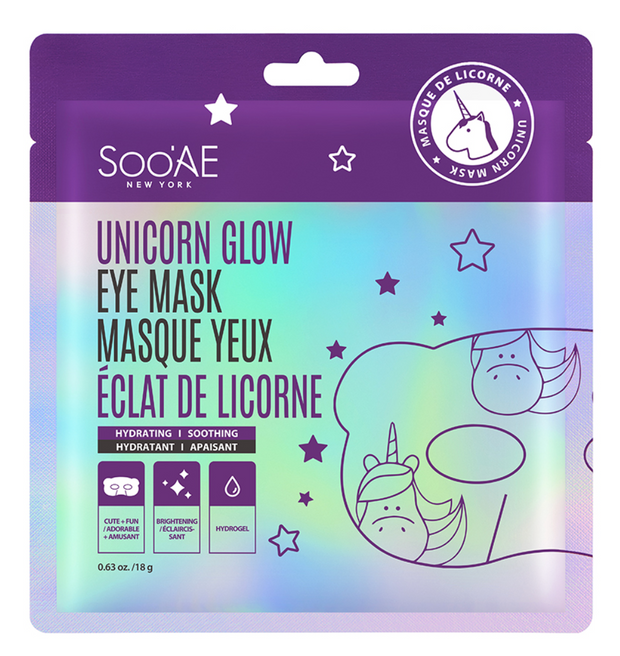 UNICORN GLOW EYE MASK