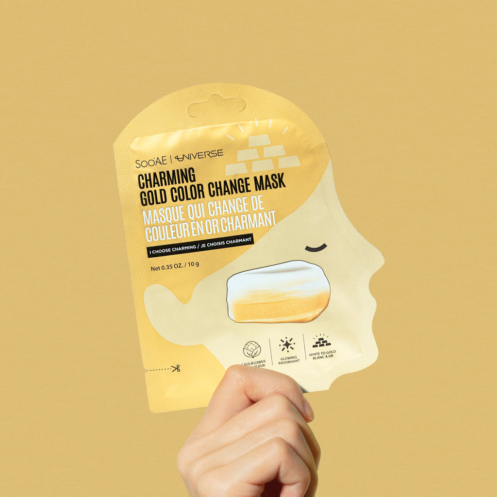 Charming Gold Color Change Mask
