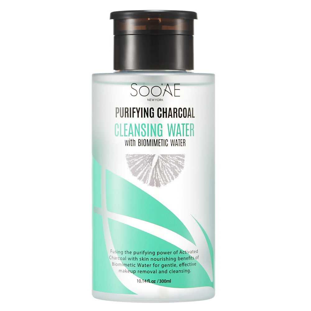Purifying Charcoal Cleansing Water - Soo'Ae Canada