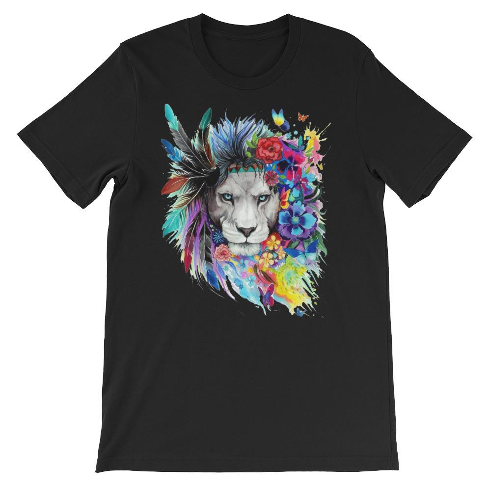 Amazing Colorful Lion tee