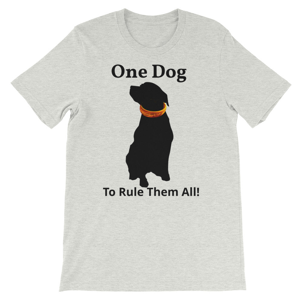 One Dog To Rule Them All! tee - teacupdoggie