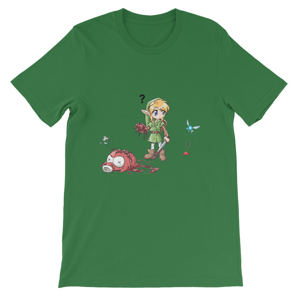 Link finds a Heart tee