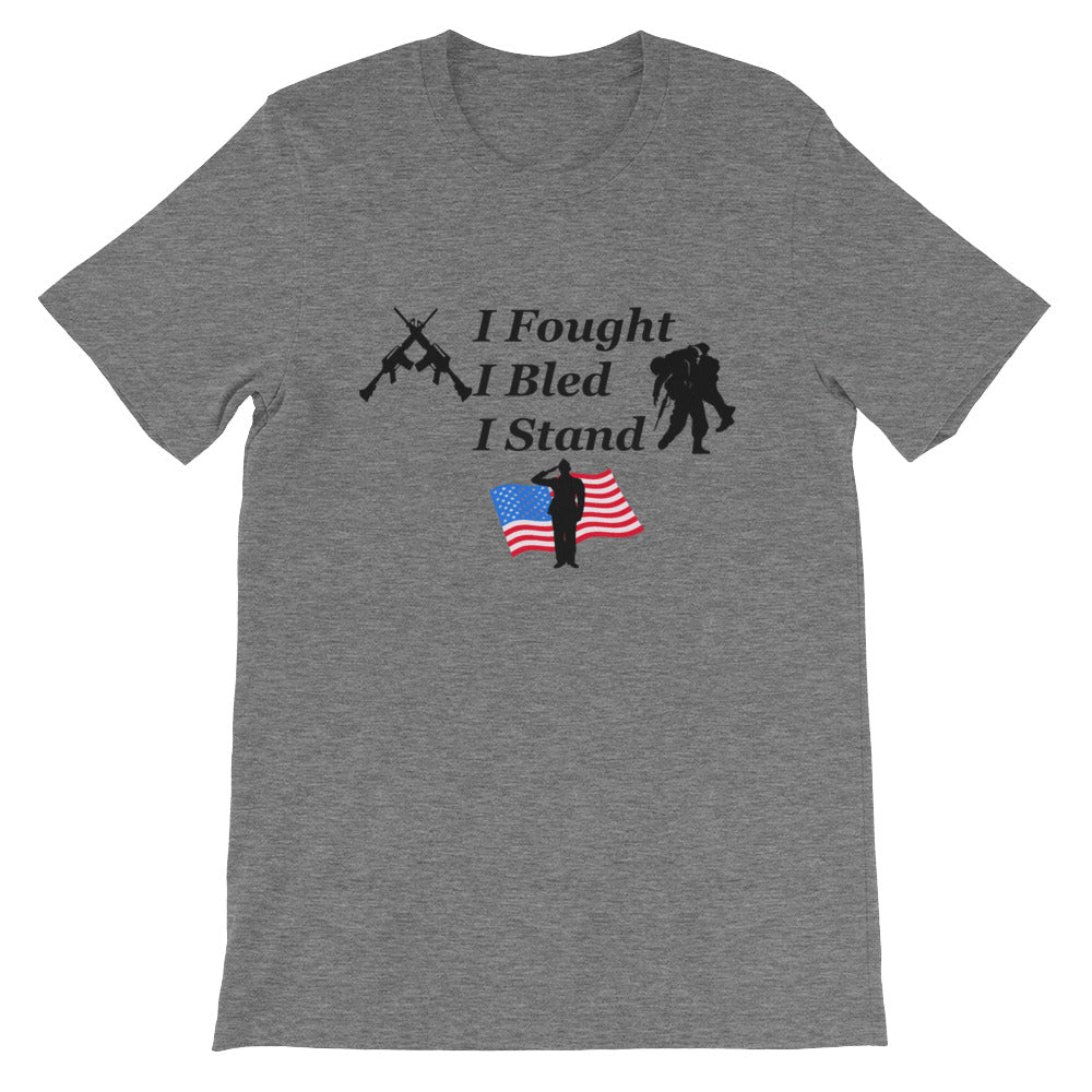 I Fought, I Bled, I Stand.  tee - teacupdoggie