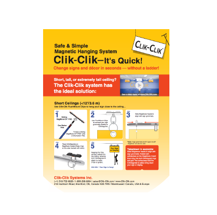 Clik-Clik 4 Step Brochure