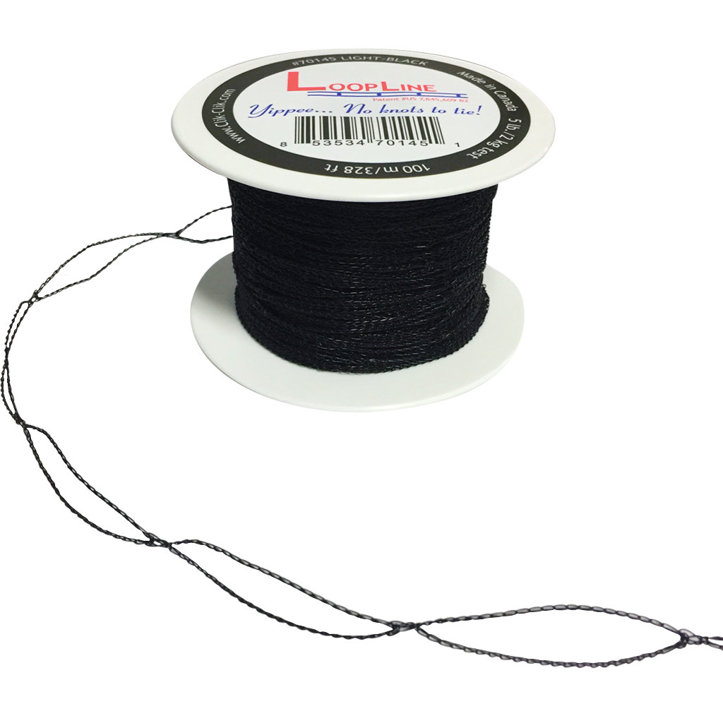 LoopLine™ Light Black (100m/328ft) #70145