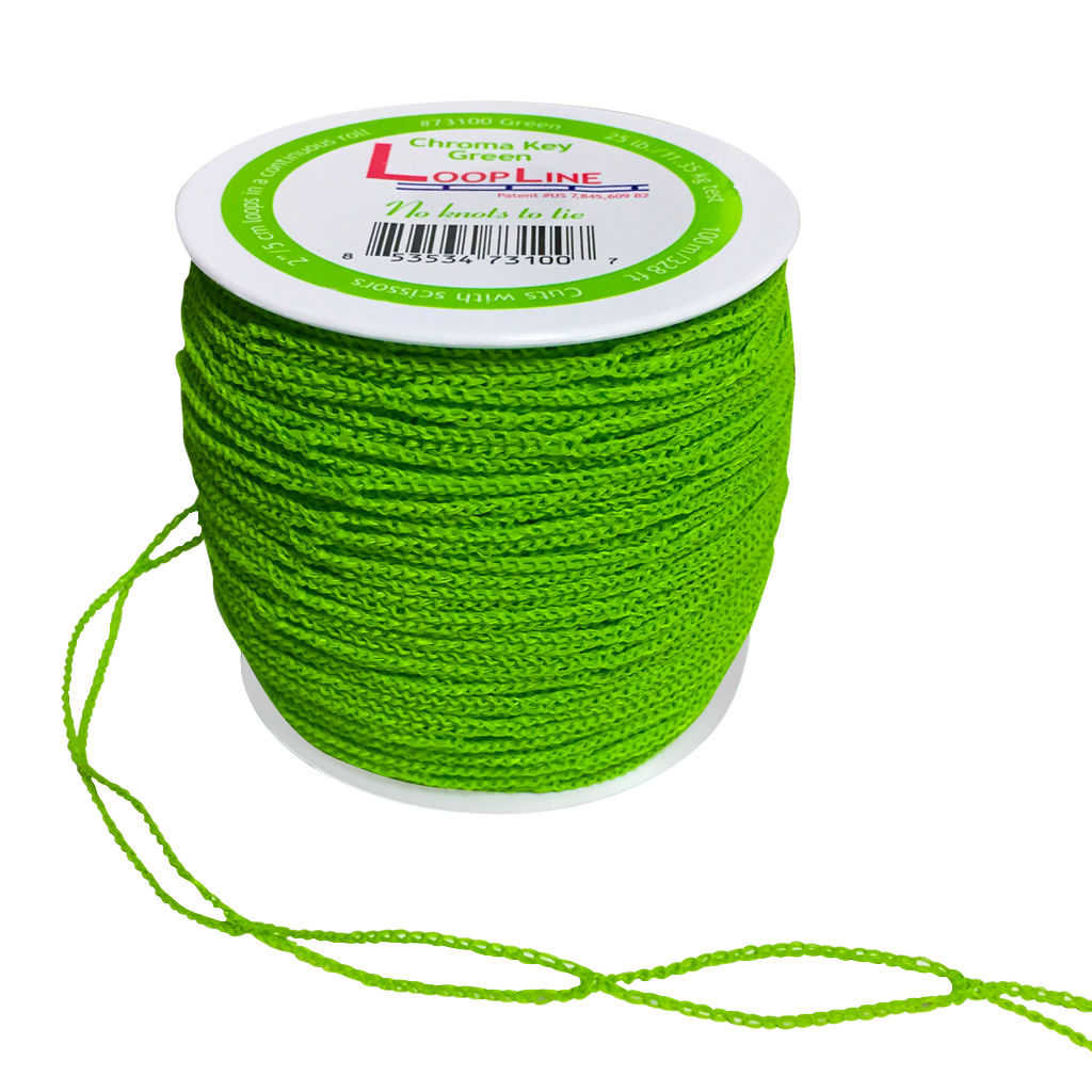LoopLine™ Chroma Key Green (100m/328ft) #73100