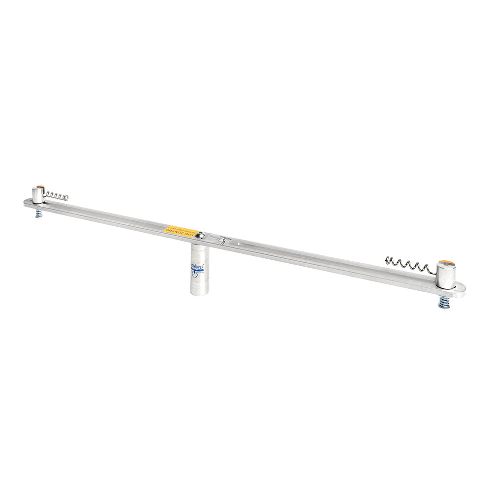 "The Sliding Dual MagMover 24"" PRO is used to hold two magnets and the display (signs, banners and decor) while being lifted to the metal on the ceiling. Hang signs, banners and decor without the use of a ladder using Clik-Clik's Magnetic Hanging System."