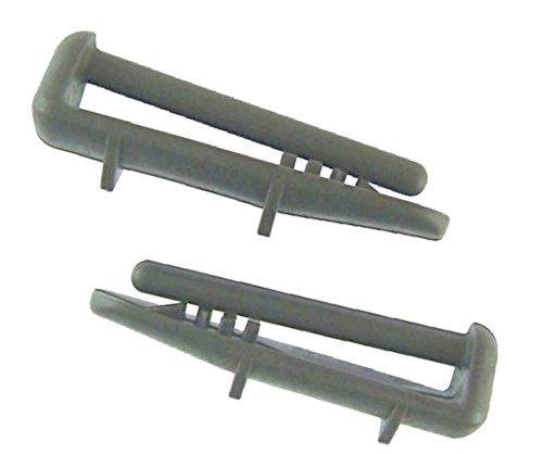 Beko Dishwasher Rear Basket Rail Cap - Pack of 2