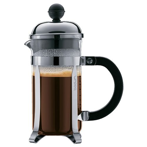 BODUM CHAMBORD COFFEE MAKER 3 CUP 0.35L SHINY