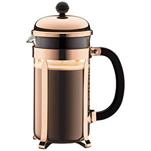 BODUM CHAMBORD COFFEE MAKER 8CUP 1.0L SHINY
