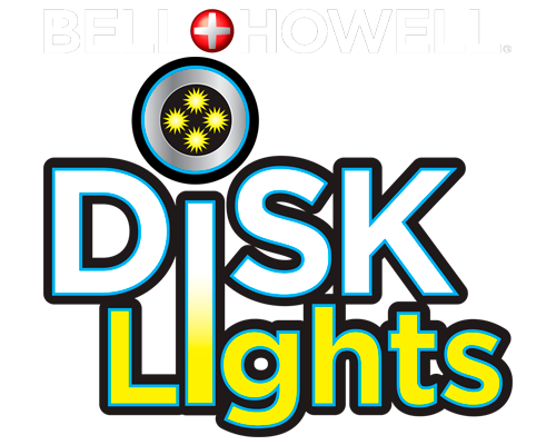 BELL & HOWELL Disk Lights | solar powered LED lighting