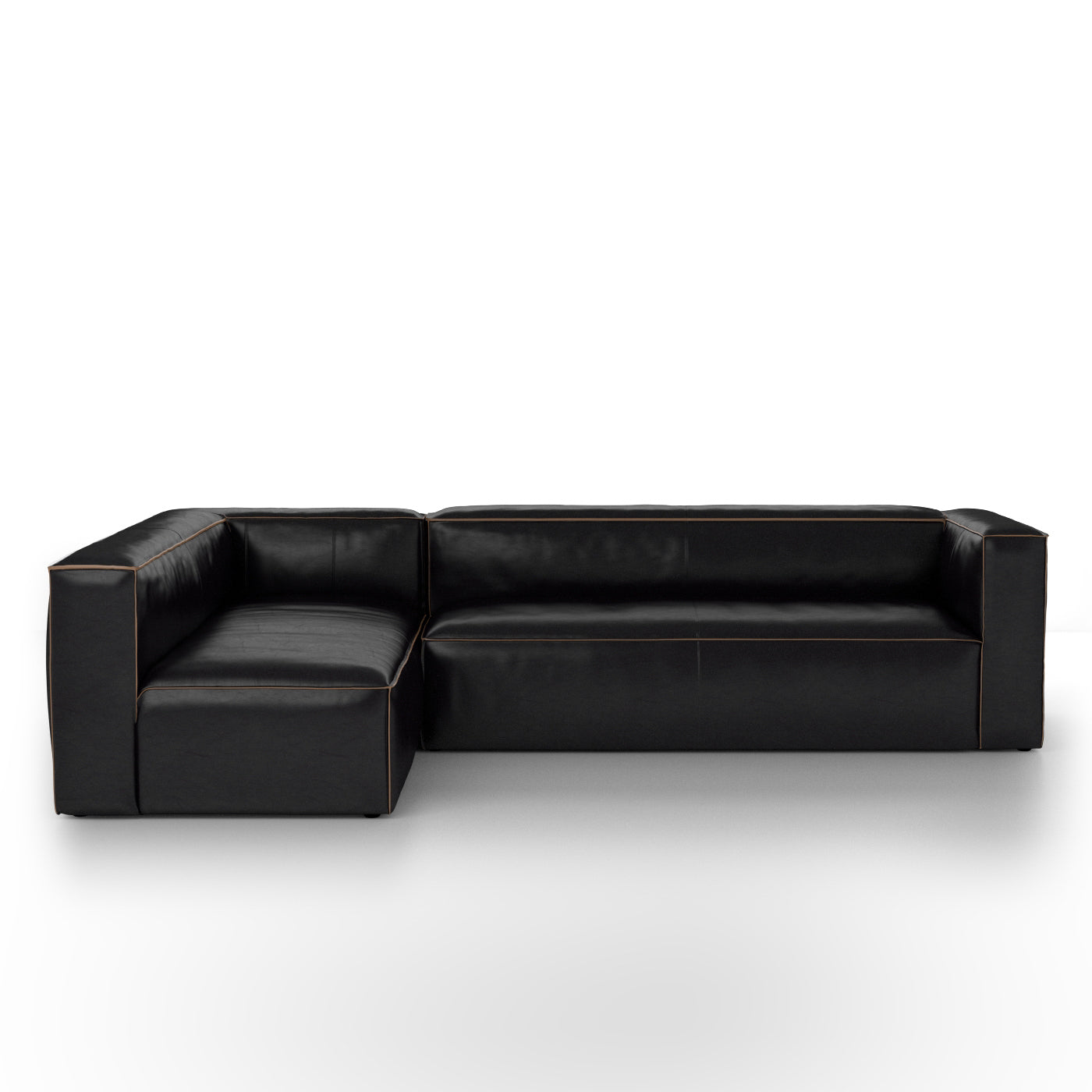 Nolita Sectional Right Rider Black Kit