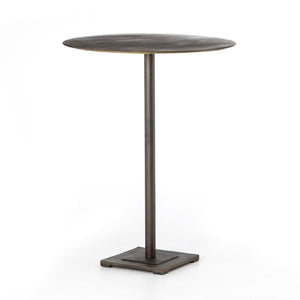 Fannin Bar Table-Aged Brass