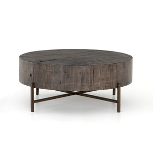 Tinsley Coffee Table-Distressed Grey