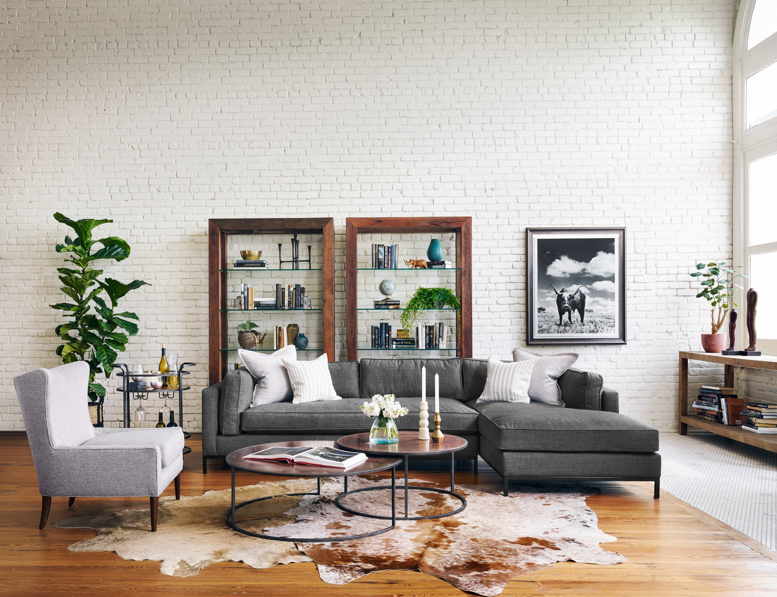 Grammercy 2 Pc Sectional W/ Raf Chaise