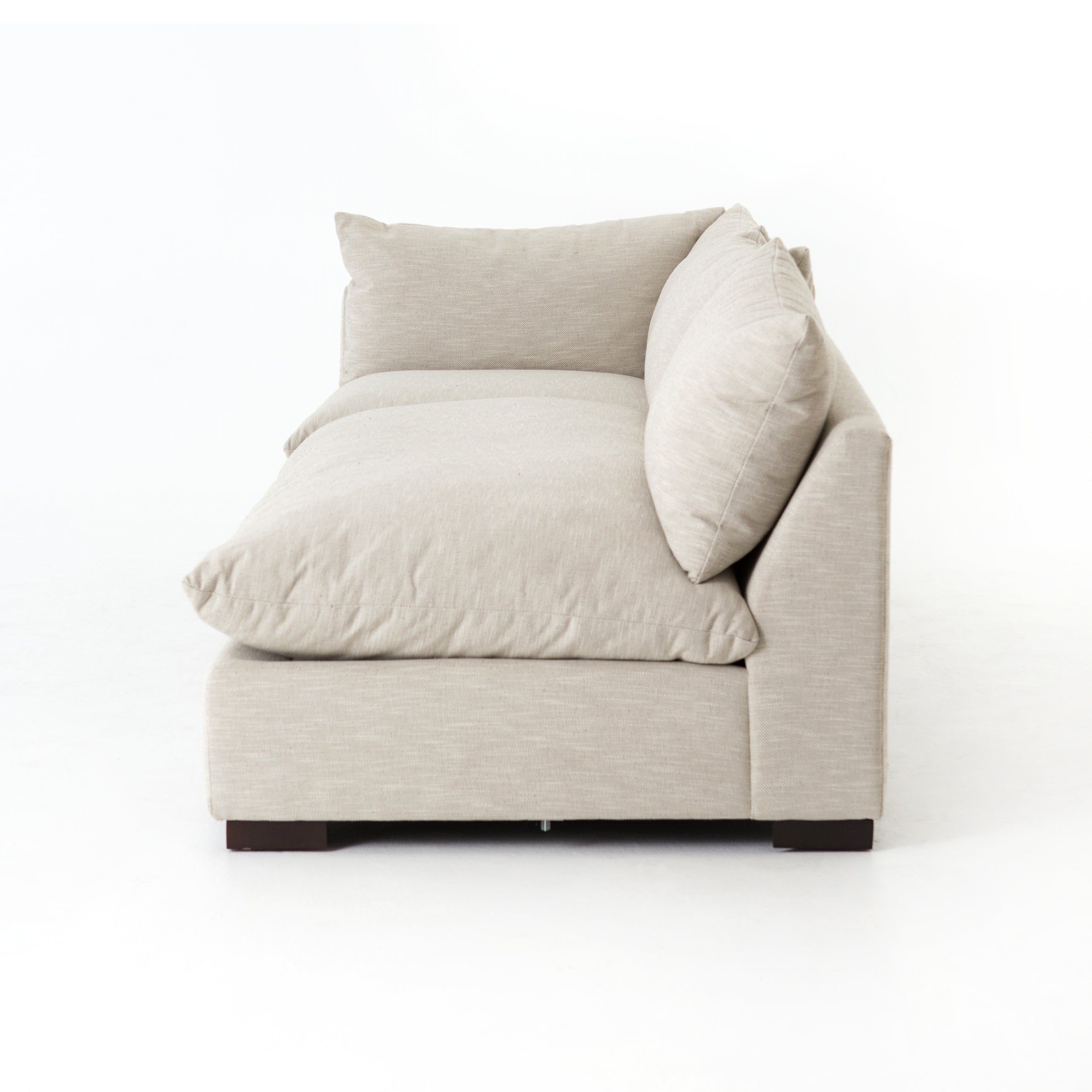 Grant 3-Pc Sectional-Ashby Oatmeal
