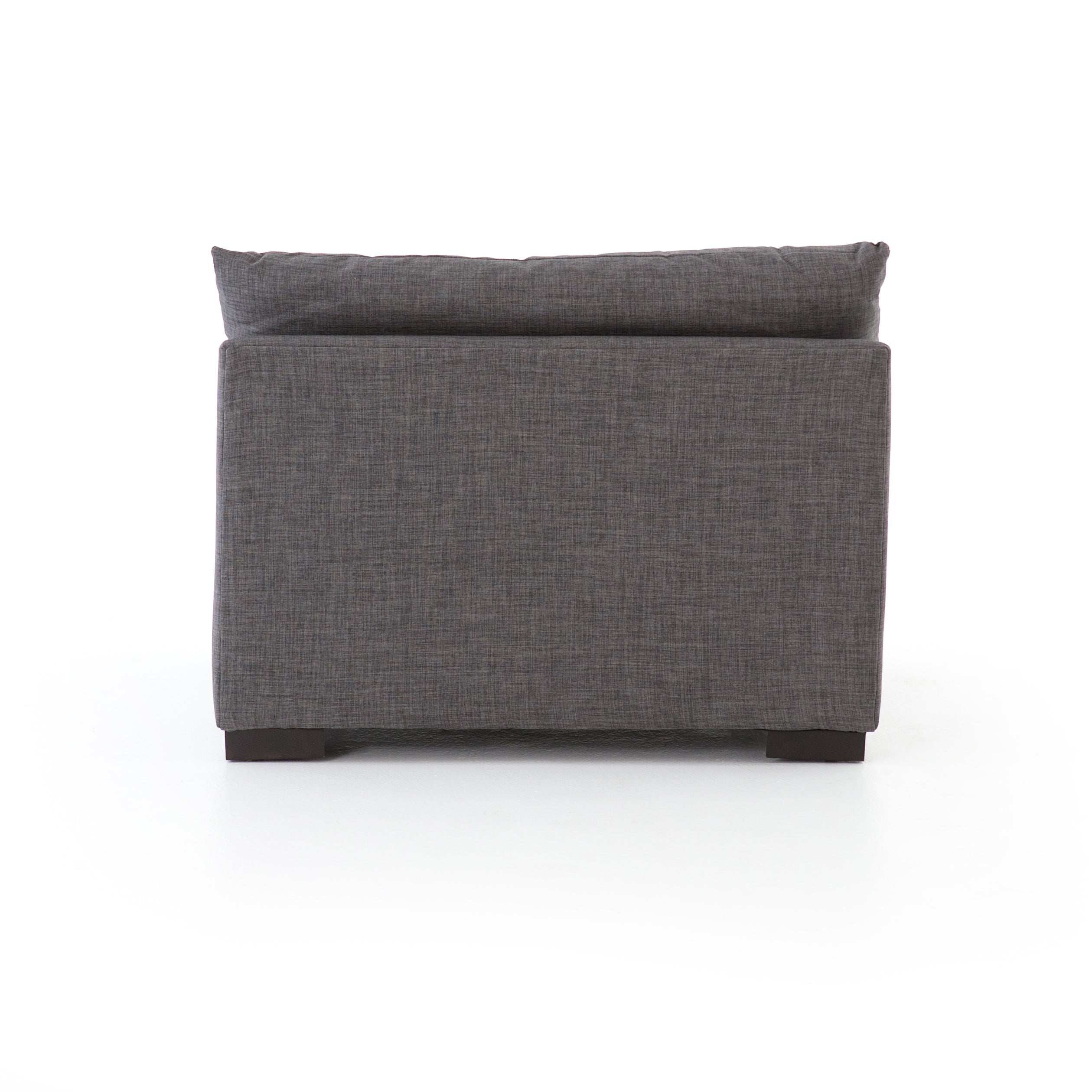 Westwood Armless Piece-Bennett Charcoal