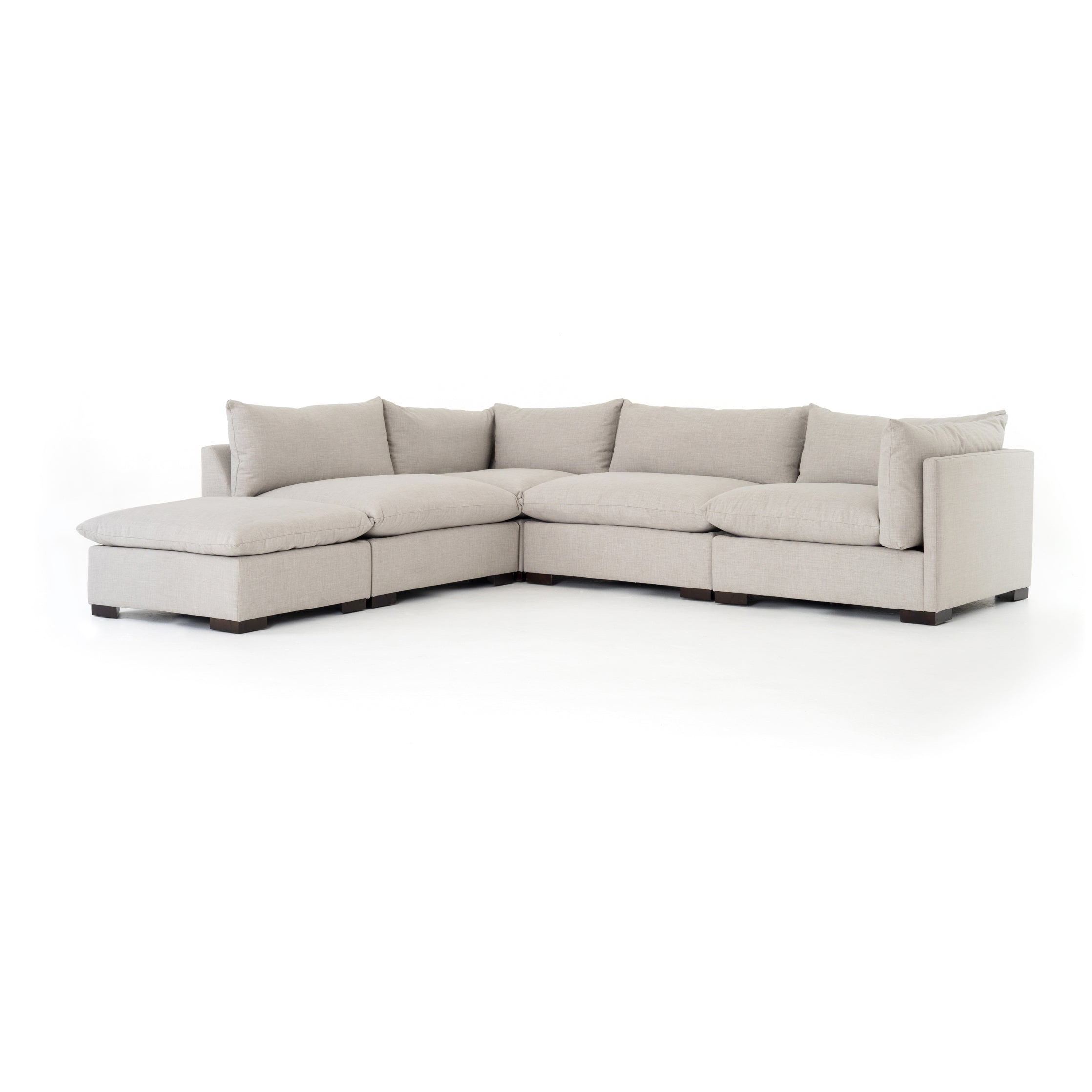 Westwood 4-Pc Sectional W/ Ottoman-Bm