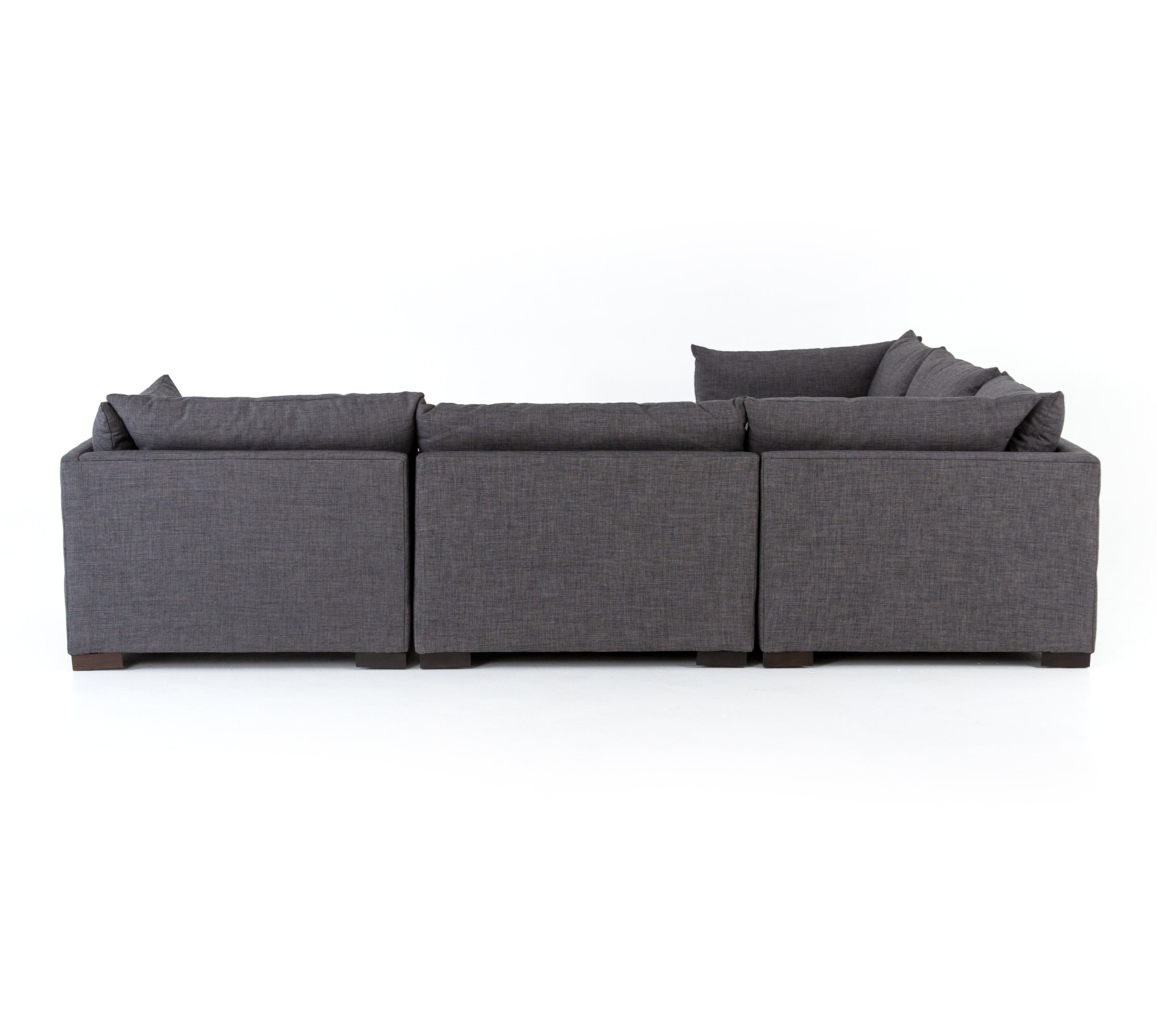 Westwood 5-Pc Sectional-Bennett Charcoal