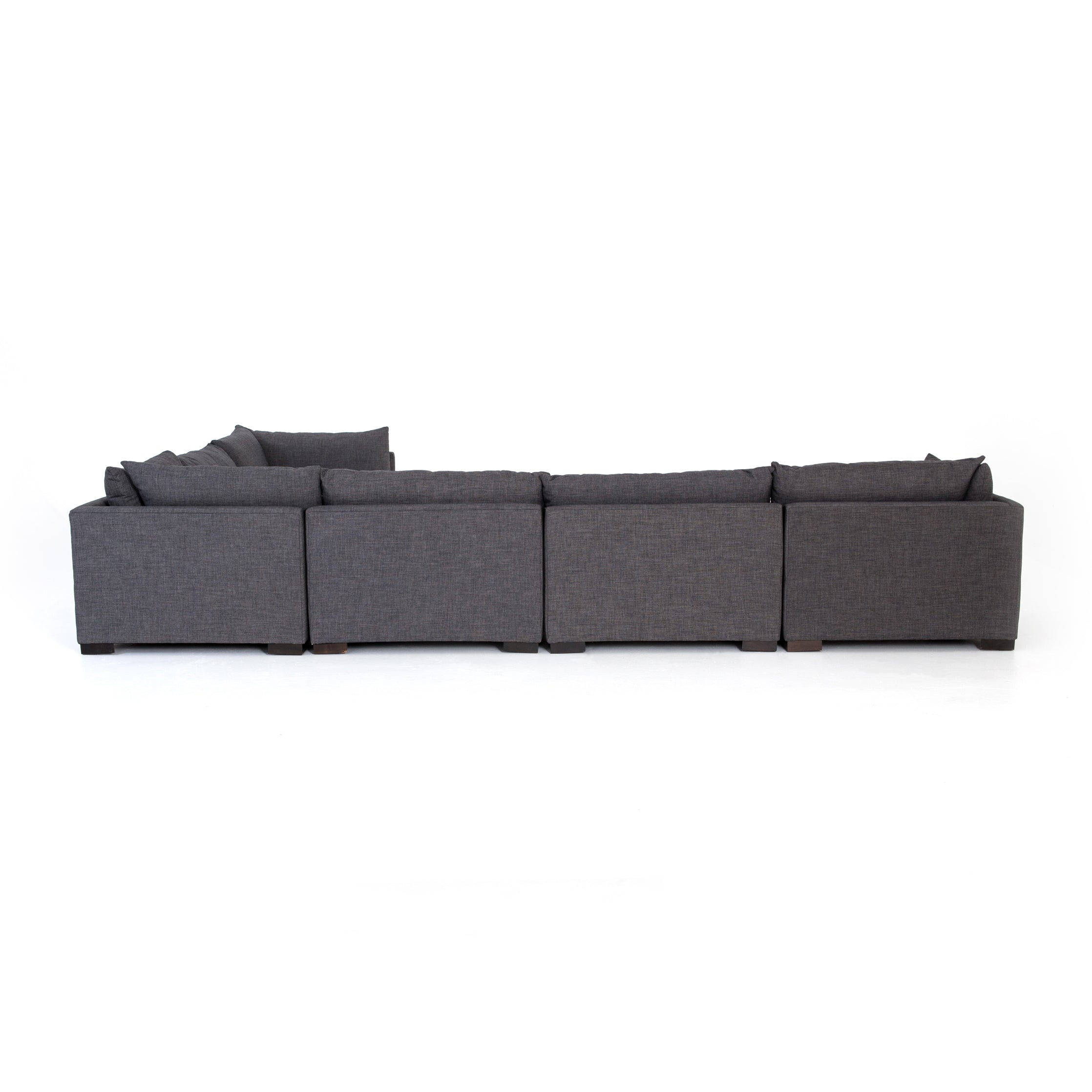 Westwood 6-Pc Sectional-Bennett Charcoal