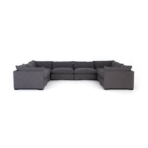Westwood 8-Pc Sectional-Bennett Charcoal