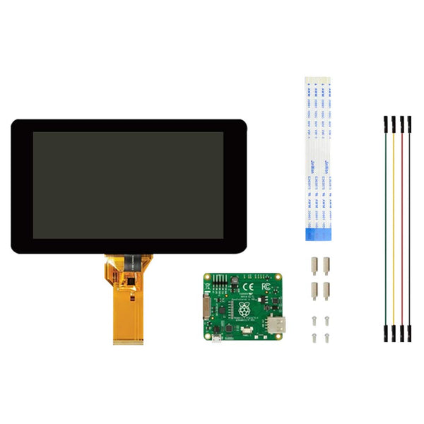 "Raspberry Pi 7"" Touch Screen Display"