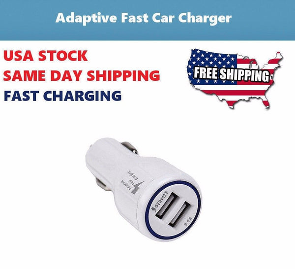 Car Charger AC Wall Power Adapter for Galaxy Tab 10.1 GT-P5210 SM-T530NU Tablet