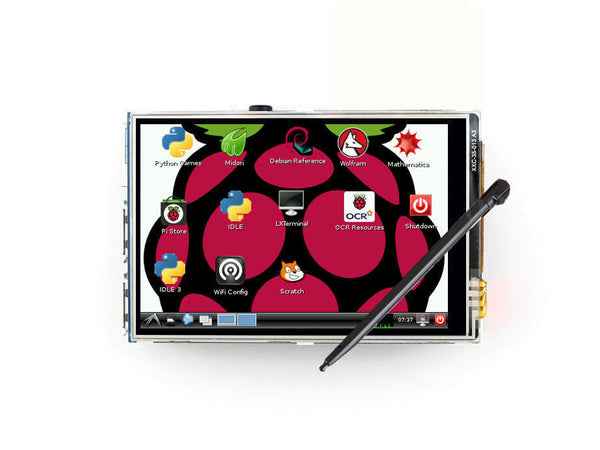 "3.5"" LCD Display Touch Screen for Raspberry Pi 2 3 Model B B+ with Stylus Pen"