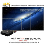 MXQ PRO 4K Android Quad Core Smart TV HD Box for HULU, NETFLIX, KODI TV
