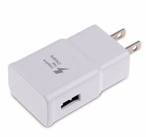 Adaptive Fast Home Wall Charger Adapter For Samsung Galaxy S6 S7 S8 S9 Edge Note
