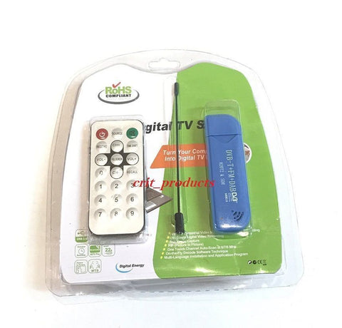 Digital DVB-T+FM+DAB USB 2.0 TV Tuner Receiver Stick RTL2832U+R820T2 820T2 & SDR