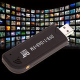 USB 2.0 Digital Tuner HDTV Antenna TV Stick Receiver DVB-T SDR+DAB+FM RTL2832U