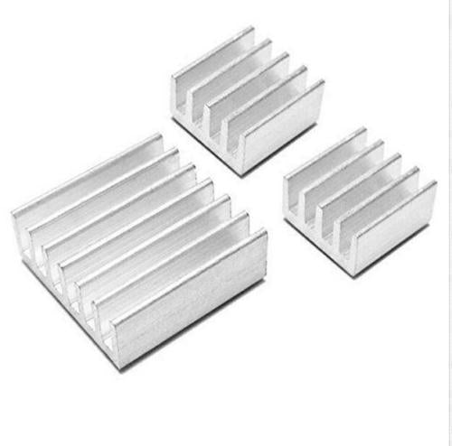 3pcs/Set Adhesive Aluminum Heatsink Cooler Kit For Cooling Raspberry Pi