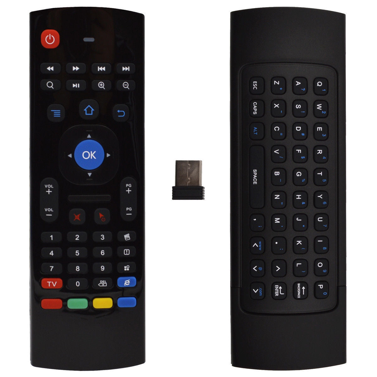 MX3 Air Mouse Wireless Keyboard Remote for Android TV Box, Nvidia Shield, PC, Smart TV