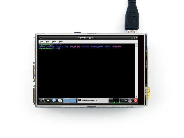 3.5 inch LCD for Raspberry Pi Boards RPi Resistive LCD 320*480 TFT Touch Screen
