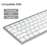 Slim Wireless Mini Keyboard for Apple iPad Pro Mini iPad Air 2/3/4