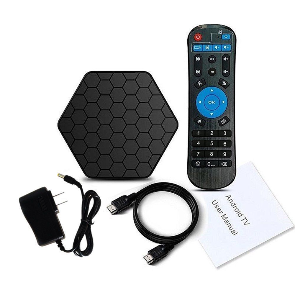 T95Z KODI 17.6 Android 7.1 3GB 32GB Amlogic S912 Octa Core TV BOX 4K HDMI Movies